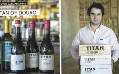 Pontuações dos Vinhos TITAN of Douro em destaque na Revista de Vinhos