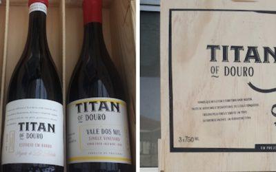Titan of Douro em destaque no Blog Contra-Rótulo